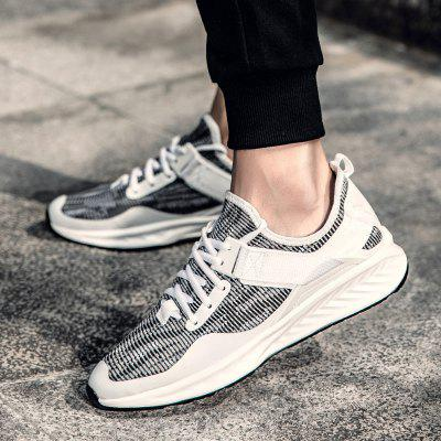 New Mens Non-Slip SneakersAthletic Shoes<br>New Mens Non-Slip Sneakers<br><br>Available Size: 39-44<br>Closure Type: Lace-Up<br>Feature: Breathable<br>Gender: For Men<br>Outsole Material: Rubber<br>Package Contents: 1 x shoes(pair)<br>Package Size(L x W x H): 33.00 x 20.00 x 12.00 cm / 12.99 x 7.87 x 4.72 inches<br>Package weight: 0.6000 kg<br>Pattern Type: Solid<br>Season: Spring/Fall<br>Upper Material: PU