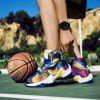 New Fashion Basketball Shoes - BLUE YELLOW