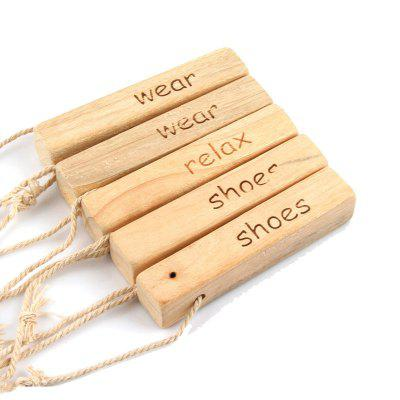 5 Pieces of Camphor Wood Strip for Anti Mildew and Moistureproof