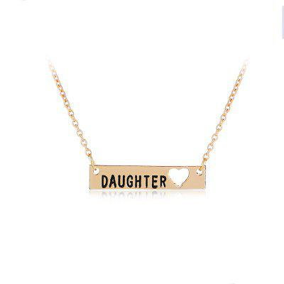 Mother and Daughter Love Mom Gift Love Heart Pendant Necklace ChainNecklaces &amp; Pendants<br>Mother and Daughter Love Mom Gift Love Heart Pendant Necklace Chain<br><br>Package Contents: 1 x Necklace<br>Package size (L x W x H): 10.00 x 5.00 x 1.00 cm / 3.94 x 1.97 x 0.39 inches<br>Package weight: 0.0100 kg