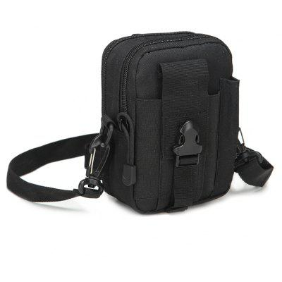 Fashion Tactical Mini Ourdoor Sport Bag for Travel Hiking -  BLACK