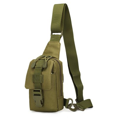 Multi-function Camouflage Tactical Bag Ourdoor Sport Bag for Travel Hiking -  GREEN