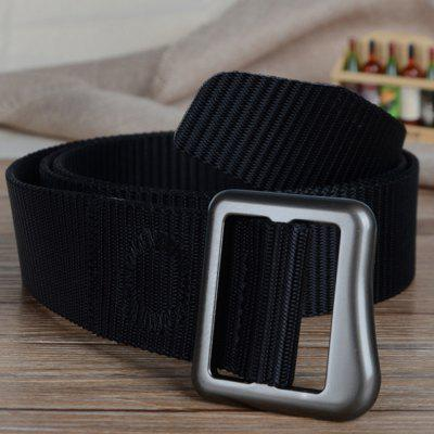 Quick Dry Canvas Tactical Military Belt Durable Adjustable Weaving Nylon BeltMens Belts<br>Quick Dry Canvas Tactical Military Belt Durable Adjustable Weaving Nylon Belt<br><br>Belt Length: 120CM<br>Belt Material: Canvas,Metal,Knitted<br>Belt Silhouette: Wide Belt<br>Belt Width: 3.8CM<br>Buckle Length: 5CM<br>Buckle Width: 4CM<br>Gender: For Men<br>Group: Adult<br>Package Contents: 1 X Belt<br>Package size (L x W x H): 10.00 x 10.00 x 5.00 cm / 3.94 x 3.94 x 1.97 inches<br>Package weight: 0.2000 kg<br>Pattern Type: Solid<br>Product size (L x W x H): 120.00 x 3.80 x 0.30 cm / 47.24 x 1.5 x 0.12 inches<br>Product weight: 0.1800 kg<br>Style: Casual
