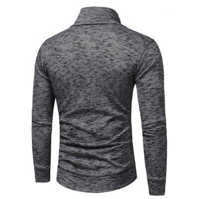 Mens Fashion Collar Thin SweaterMens Sweaters &amp; Cardigans<br>Mens Fashion Collar Thin Sweater<br><br>Collar: Turtleneck<br>Material: Cotton, Polyester<br>Package Contents: 1 x Sweater<br>Package size (L x W x H): 1.00 x 1.00 x 1.00 cm / 0.39 x 0.39 x 0.39 inches<br>Package weight: 0.3800 kg<br>Size1: M,L,XL,2XL,3XL<br>Sleeve Length: Full<br>Type: Pullovers