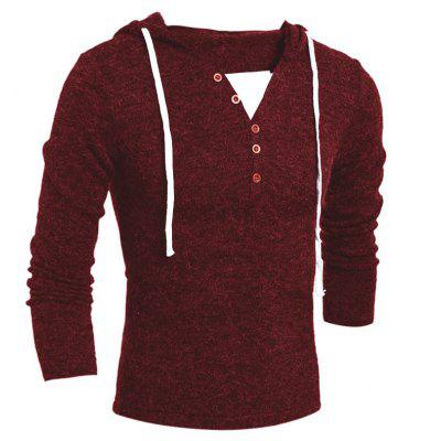 Men  Fashion Hooded Sweater 7753Mens Sweaters &amp; Cardigans<br>Men  Fashion Hooded Sweater 7753<br><br>Collar: Hooded<br>Material: Polyester<br>Package Contents: 1x Sweater<br>Package size (L x W x H): 1.00 x 1.00 x 1.00 cm / 0.39 x 0.39 x 0.39 inches<br>Package weight: 0.2800 kg<br>Size1: M,L,XL,2XL<br>Sleeve Length: Full<br>Type: Pullovers