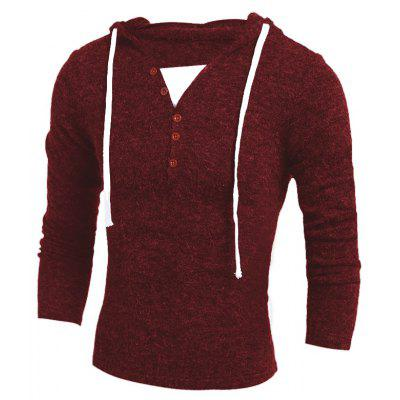 Men  Fashion Hooded Sweater 7753