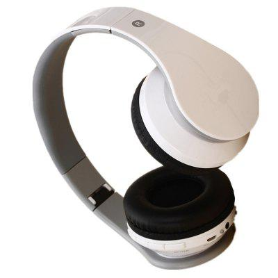 Bluetooth Headphones On Ear Driver Wireless Headset Foldable with Mic Wired and Wireless HeadphoneBluetooth Headphones<br>Bluetooth Headphones On Ear Driver Wireless Headset Foldable with Mic Wired and Wireless Headphone<br><br>Package Contents: 1 x Headset<br>Package size (L x W x H): 17.50 x 16.00 x 8.00 cm / 6.89 x 6.3 x 3.15 inches<br>Package weight: 0.2500 kg<br>Product weight: 0.2000 kg<br>Usage mode: Head-mounted