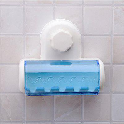 Creative Toothbrush Suction Cups Holder Stand 5 Racks Home Bathroom Wall Mount for Suckers