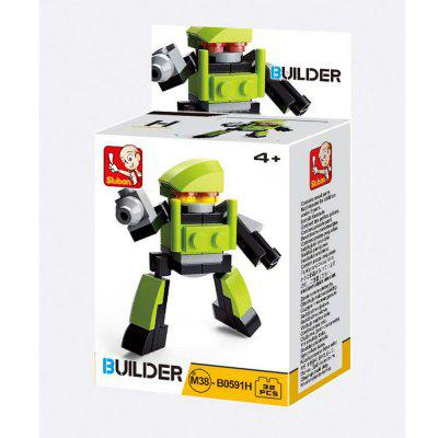 Sluban Building Blocks Educational Kids Toy Creators ( 18 - 32 Piece )Block Toys<br>Sluban Building Blocks Educational Kids Toy Creators ( 18 - 32 Piece )<br><br>Brand: Sluban<br>Completeness: Finished Goods<br>Gender: Boys,Girls,Unisex<br>Materials: ABS, Plastic<br>Package Contents: 1 x Product, 1 x Color Box, 1 x English Manual<br>Package size: 6.70 x 3.80 x 14.10 cm / 2.64 x 1.5 x 5.55 inches<br>Package weight: 0.1500 kg<br>Stem From: Other<br>Suitable Age: Adults,Baby,Kid<br>Theme: Airplanes,Boats,Buildings,Fantasy and Sci-fi,Other,Robots,Sports,Vehicle<br>Type: Kids Building, Construction, Building