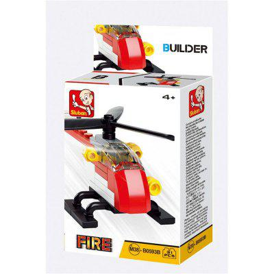 Sluban Building Blocks Educational Kids Toy Fire Police Set  ( 38 - 44 Piece )Block Toys<br>Sluban Building Blocks Educational Kids Toy Fire Police Set  ( 38 - 44 Piece )<br><br>Brand: Sluban<br>Completeness: Finished Goods<br>Gender: Boys,Girls,Unisex<br>Materials: ABS, Plastic<br>Package Contents: 1 x Product, 1 x Color Box, 1 x English Manual<br>Package size: 11.50 x 3.80 x 14.90 cm / 4.53 x 1.5 x 5.87 inches<br>Package weight: 0.1600 kg<br>Stem From: Other<br>Suitable Age: Adults,Baby,Kid<br>Theme: Airplanes,Boats,Buildings,Other,Robots,Vehicle<br>Type: Kids Building, Construction, Building