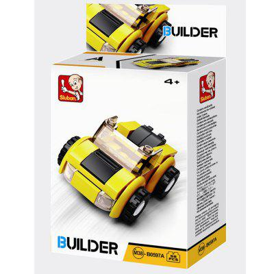 Sluban Building Blocks Educational Kids Toy City Vehicles Creators ( 41 - 56 Piece )Block Toys<br>Sluban Building Blocks Educational Kids Toy City Vehicles Creators ( 41 - 56 Piece )<br><br>Brand: Sluban<br>Completeness: Finished Goods<br>Gender: Boys,Girls,Unisex<br>Materials: ABS, Plastic<br>Package Contents: 1 x Product, 1 x Color Box, 1 x English Manual<br>Package size: 12.80 x 4.50 x 16.30 cm / 5.04 x 1.77 x 6.42 inches<br>Package weight: 0.2000 kg<br>Stem From: Other<br>Suitable Age: Adults,Baby,Kid<br>Theme: Airplanes,Buildings,Fantasy and Sci-fi,Other,Robots,Sports,Vehicle<br>Type: Kids Building, Construction, Building