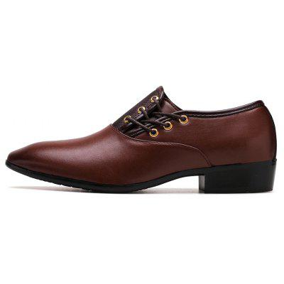 Fashion Leather Shoes Oxford Shoes Wedding Office Males Flats ShoesFormal Shoes<br>Fashion Leather Shoes Oxford Shoes Wedding Office Males Flats Shoes<br><br>Available Size: 38-48<br>Closure Type: Lace-Up<br>Embellishment: None<br>Gender: For Men<br>Occasion: Dress<br>Outsole Material: Rubber<br>Package Contents: 1 x pair of shoes<br>Pattern Type: Solid<br>Season: Summer, Winter, Spring/Fall<br>Toe Shape: Pointed Toe<br>Toe Style: Closed Toe<br>Upper Material: Leather<br>Weight: 2.1000kg