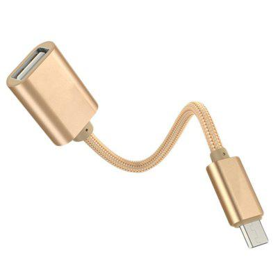 Micro USB 2.0 OTG Cable, USB Male to A Female Adapter Converter for Android Devices