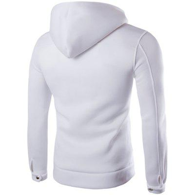 MenS Casual Fashion Pockets Unique Button Design HoodiesMens Hoodies &amp; Sweatshirts<br>MenS Casual Fashion Pockets Unique Button Design Hoodies<br><br>Hoodies: None<br>Material: Cotton Blends<br>Package Contents: 1x Hoodies<br>Shirt Length: Regular<br>Sleeve Length: Full<br>Style: Casual<br>Weight: 0.4200kg