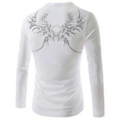 MenS New Longfeng Tattoo Printing Design Sports Long-Sleeved T-ShirtMens T-shirts<br>MenS New Longfeng Tattoo Printing Design Sports Long-Sleeved T-Shirt<br><br>Collar: Round Neck<br>Material: Cotton Blends<br>Package Contents: 1xT-Shirt<br>Pattern Type: Print<br>Sleeve Length: Full<br>Style: Fashion<br>T-Shirt: None<br>Weight: 0.2000kg