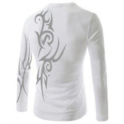 MenS New Casual Tattoo Printing Design Breathable Long-Sleeved T-ShirtMens T-shirts<br>MenS New Casual Tattoo Printing Design Breathable Long-Sleeved T-Shirt<br><br>Collar: Round Neck<br>Material: Cotton Blends<br>Package Contents: 1x  T-Shirt<br>Pattern Type: Print<br>Sleeve Length: Full<br>Style: Fashion<br>T-Shirt: None<br>Weight: 0.2000kg