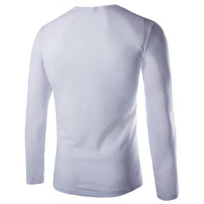 Men Pile Collar Design Fashion Slim Long-Sleeved T-ShirtMens T-shirts<br>Men Pile Collar Design Fashion Slim Long-Sleeved T-Shirt<br><br>Collar: Cowl Neck<br>Material: Cotton, Cotton Blends<br>Package Contents: 1x  T-Shirt<br>Pattern Type: Solid<br>Sleeve Length: Full<br>Style: Fashion<br>T-Shirt: None<br>Weight: 0.2500kg