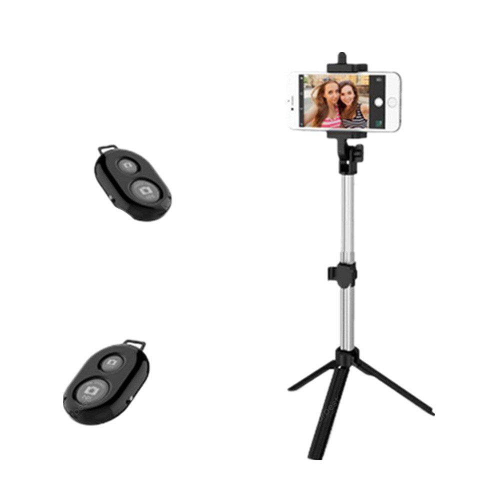 Yeshold High-end para iPhone / Samsung / Xiaomi Mobile Phone Universal Hand-Held Tripé Selfie Stick