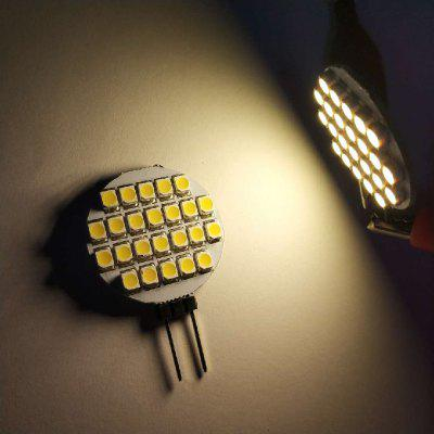 G4 3.5W 24SMD 3528 250 - 340LM LED Bi-Pin Lights DC12V 10PCS