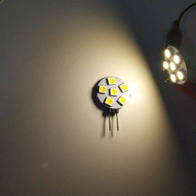 10PCS G4 2W LED-uri Bi-Pin Lumini 6LEDS SMD5050 150-200LM DC12V Lampă decorative