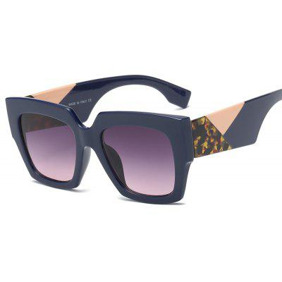 New fashion color box sunglasses for lady