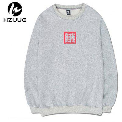 Mens Round Collar Printed SweatershirtsMens Hoodies &amp; Sweatshirts<br>Mens Round Collar Printed Sweatershirts<br><br>Material: Cotton<br>Package Contents: 1xSweatshirt<br>Shirt Length: Regular<br>Sleeve Length: Full<br>Style: Casual<br>Weight: 0.5000kg