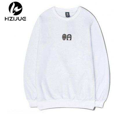 The New Trend Prints Mens Round Neck SweatershirtsMens Hoodies &amp; Sweatshirts<br>The New Trend Prints Mens Round Neck Sweatershirts<br><br>Material: Cotton<br>Package Contents: 1xSweatshirt<br>Shirt Length: Regular<br>Sleeve Length: Full<br>Style: Casual<br>Weight: 0.5000kg