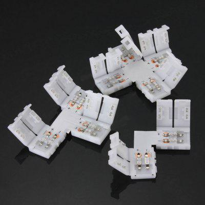 ZDM 2 Pin 10MM 3 Shape FPC Connector for 5050 / 5730 Single Color  LED Strip Light ConnectionLED Accessories<br>ZDM 2 Pin 10MM 3 Shape FPC Connector for 5050 / 5730 Single Color  LED Strip Light Connection<br><br>Accessory type: Connect Cable<br>Brand: ZDM<br>Material: FPC<br>Package Contents: 1 x LED Connector<br>Package size (L x W x H): 10.00 x 6.00 x 0.50 cm / 3.94 x 2.36 x 0.2 inches<br>Package weight: 0.0040 kg<br>Product size (L x W x H): 5.00 x 5.00 x 0.50 cm / 1.97 x 1.97 x 0.2 inches<br>Product weight: 0.0035 kg