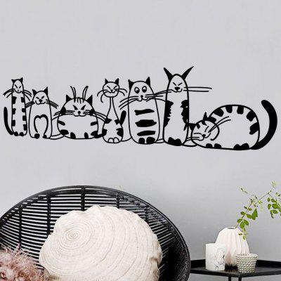 DSU Cute Cat Wall Stickers Funny Cute Cat Vinyl Decal Abstract Pussy Cat DecorationWall Stickers<br>DSU Cute Cat Wall Stickers Funny Cute Cat Vinyl Decal Abstract Pussy Cat Decoration<br><br>Art Style: Plane Wall Stickers, Toilet Stickers<br>Artists: Others<br>Brand: DSU<br>Color Scheme: Black<br>Effect Size (L x W): 30 x 98 cm<br>Function: Decorative Wall Sticker<br>Layout Size (L x W): 30 x 98 cm<br>Material: Vinyl(PVC)<br>Package Contents: 1 x Wall Sticker<br>Package size (L x W x H): 35.00 x 6.00 x 6.00 cm / 13.78 x 2.36 x 2.36 inches<br>Package weight: 0.1100 kg<br>Product size (L x W x H): 30.00 x 98.00 x 0.01 cm / 11.81 x 38.58 x 0 inches<br>Product weight: 0.0600 kg<br>Quantity: 1<br>Subjects: Fashion,Letter,Cute,Cartoon,Famous<br>Suitable Space: Living Room,Bedroom,Hotel,Kids Room,Entry,Kitchen,Pathway,Door,Corridor,Hallway,Boys Room,Game Room<br>Type: Plane Wall Sticker