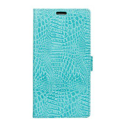 Cover Case for Samsung Galaxy S9 PLUS Retro Crocodile Pattern Leather
