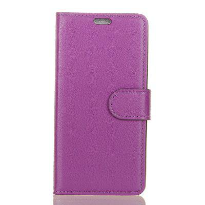 Cover Case for Samsung Galaxy S9 PLUS Pure Color Litchi Leather
