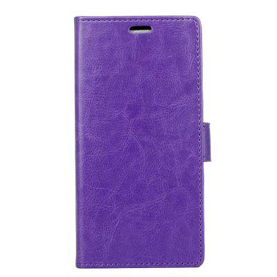 Cover Case for Samsung Galaxy S9 PLUS Pure Color Crystal Texture Leather