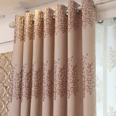 European Minimalist Style Living Room Bedroom Jacquard Curtains Grommet 2PCSWindow Treatments<br>European Minimalist Style Living Room Bedroom Jacquard Curtains Grommet 2PCS<br><br>Crafts: Jacquard<br>Curtain Pattern: Floral<br>Curtain Style: European Style<br>Curtain Type: Curtains Drapes<br>Package Contents: 2 x Curtain<br>Package size (L x W x H): 40.00 x 22.00 x 12.00 cm / 15.75 x 8.66 x 4.72 inches<br>Package weight: 3.0000 kg<br>Top Construction: Grommet Top<br>Type: Curtain