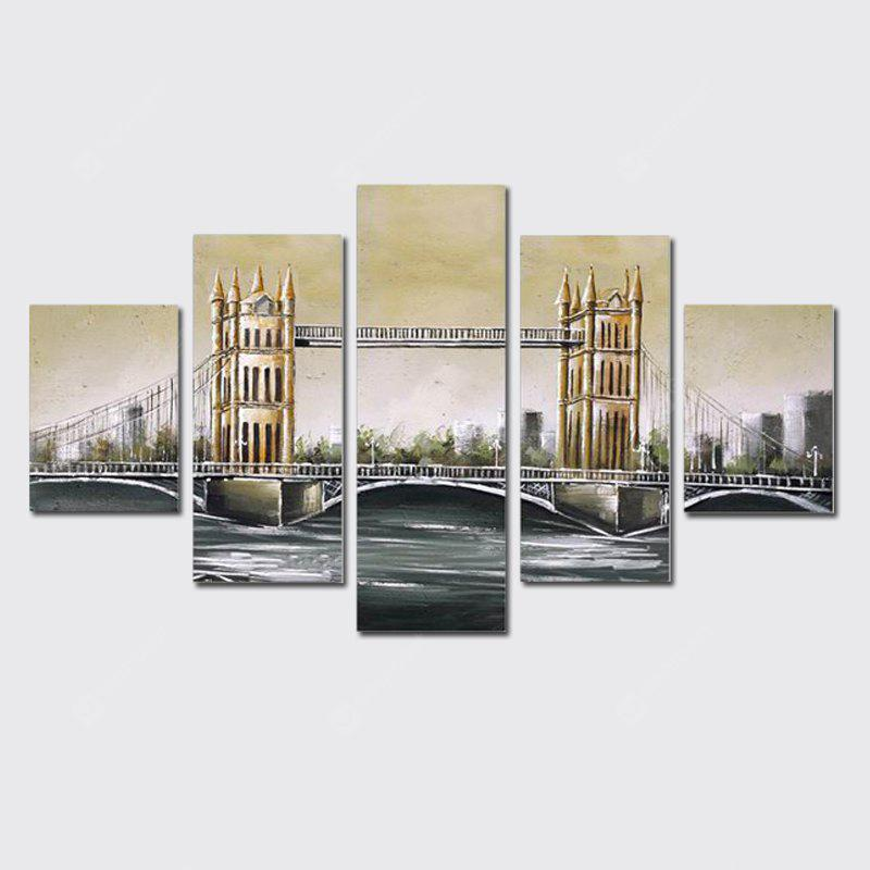 QiaoJiaHuaYuan No Frame Canvas Without Frame Canvas Five Sets of ...