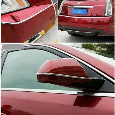 8m Universal Car Chrome Protection Wheel Edge Decoration Collision StripsCar Ornaments &amp; Pendant<br>8m Universal Car Chrome Protection Wheel Edge Decoration Collision Strips<br><br>Material: PVC<br>Package Contents: 1 x Car Wheel Decoration Collision Strip<br>Package size (L x W x H): 20.00 x 20.00 x 3.00 cm / 7.87 x 7.87 x 1.18 inches<br>Package weight: 0.2200 kg<br>Product size (L x W x H): 18.00 x 18.00 x 2.00 cm / 7.09 x 7.09 x 0.79 inches<br>Product weight: 0.2000 kg