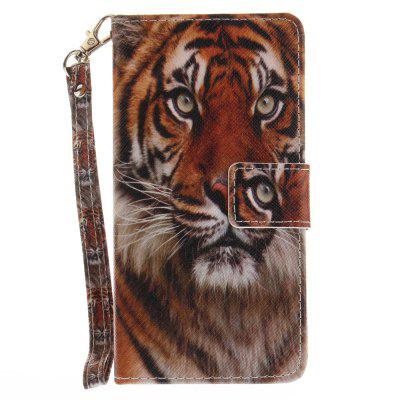 Cover Case for Samsung Galaxy A5 2016(A510) Manchurian Tiger PU+TPU Leather with Stand and Card Slots Magnetic Closure cover case for samsung galaxy s8 young eagles pu tpu leather with stand and card slots magnetic closure