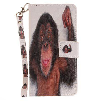 Cover Case for Samsung Galaxy A5 2016(A510) Monkey PU+TPU Leather with Stand and Card Slots Magnetic ClosureCover Case for Samsung Galaxy A5 2016(A510) Monkey PU+TPU Leather with Stand and Card Slots Magnetic Closure<br><br>Compatible for Samsung: Samsung Galaxy Note 8<br>Compatible with: SAMSUNG<br>Features: Full Body Cases, Cases with Stand, With Credit Card Holder, With Lanyard, Anti-knock<br>For: Samsung Mobile Phone<br>Material: TPU, PU Leather<br>Package Contents: 1 x Phone Case<br>Package size (L x W x H): 17.00 x 7.00 x 1.00 cm / 6.69 x 2.76 x 0.39 inches<br>Package weight: 0.0600 kg<br>Product size (L x W x H): 16.00 x 6.00 x 1.00 cm / 6.3 x 2.36 x 0.39 inches<br>Product weight: 0.0500 kg<br>Style: Animal, Pattern