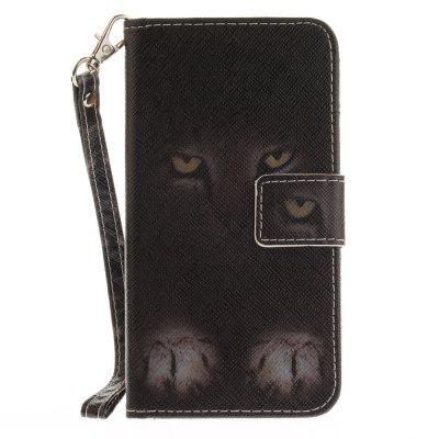 Cover Case for Samsung Galaxy J3 2016 (J310) Mystery Cat PU+TPU Leather with Stand and Card Slots Magnetic ClosureSamsung J Series<br>Cover Case for Samsung Galaxy J3 2016 (J310) Mystery Cat PU+TPU Leather with Stand and Card Slots Magnetic Closure<br><br>Compatible for Samsung: Samsung Galaxy J3, Samsung Galaxy Note 8<br>Compatible with: SAMSUNG<br>Features: Cases with Stand, Full Body Cases, Anti-knock, With Credit Card Holder, With Lanyard<br>For: Samsung Mobile Phone<br>Material: TPU, PU Leather<br>Package Contents: 1 x Phone Case<br>Package size (L x W x H): 17.00 x 7.00 x 1.00 cm / 6.69 x 2.76 x 0.39 inches<br>Package weight: 0.0600 kg<br>Product size (L x W x H): 16.00 x 6.00 x 1.00 cm / 6.3 x 2.36 x 0.39 inches<br>Product weight: 0.0500 kg<br>Style: Animal, Pattern
