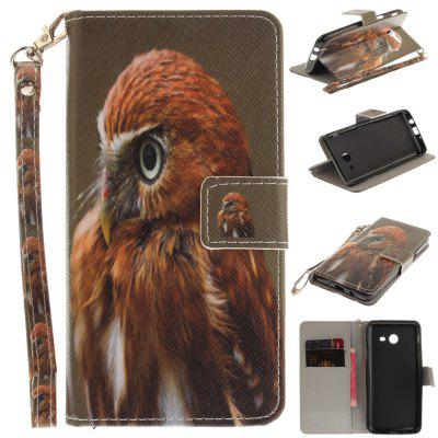Cover Case for Samsung Galaxy J5 2017 Young Eagles PU+TPU Leather with Stand and Card Slots Magnetic Closure