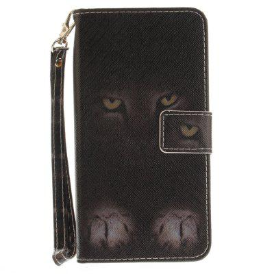 Cover Case for Samsung Galaxy J7 2017 Mystery Cat PU+TPU Leather with Stand and Card Slots Magnetic ClosureSamsung J Series<br>Cover Case for Samsung Galaxy J7 2017 Mystery Cat PU+TPU Leather with Stand and Card Slots Magnetic Closure<br><br>Compatible with: SAMSUNG<br>Features: Full Body Cases, Cases with Stand, With Credit Card Holder, With Lanyard, Anti-knock<br>For: Samsung Mobile Phone<br>Material: TPU, PU Leather<br>Package Contents: 1 x Phone Case<br>Package size (L x W x H): 17.00 x 7.00 x 1.00 cm / 6.69 x 2.76 x 0.39 inches<br>Package weight: 0.0600 kg<br>Product size (L x W x H): 16.00 x 6.00 x 1.00 cm / 6.3 x 2.36 x 0.39 inches<br>Product weight: 0.0500 kg<br>Style: Animal, Pattern