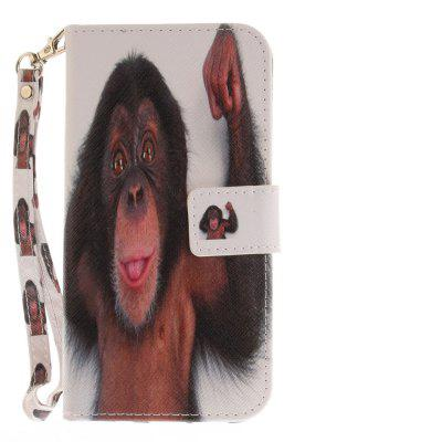 Cover Case for Samsung Galaxy S7 Edge Monkey PU+TPU Leather with Stand and Card Slots Magnetic ClosureSamsung S Series<br>Cover Case for Samsung Galaxy S7 Edge Monkey PU+TPU Leather with Stand and Card Slots Magnetic Closure<br><br>Compatible for Samsung: Samsung Galaxy S7 Edge<br>Compatible with: SAMSUNG<br>Features: Full Body Cases, Cases with Stand, With Credit Card Holder, With Lanyard, Anti-knock<br>For: Samsung Mobile Phone<br>Material: TPU, PU Leather<br>Package Contents: 1 x Phone Case<br>Package size (L x W x H): 17.00 x 7.00 x 1.00 cm / 6.69 x 2.76 x 0.39 inches<br>Package weight: 0.0600 kg<br>Product size (L x W x H): 16.00 x 6.00 x 1.00 cm / 6.3 x 2.36 x 0.39 inches<br>Product weight: 0.0500 kg<br>Style: Animal, Pattern