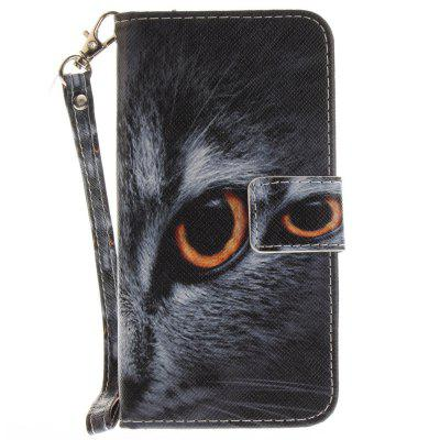 Cover Case for Samsung Galaxy S7 Half A Face of A Cat PU+TPU Leather with Stand and Card Slots Magnetic ClosureCover Case for Samsung Galaxy S7 Half A Face of A Cat PU+TPU Leather with Stand and Card Slots Magnetic Closure<br><br>Compatible for Samsung: Samsung Galaxy S7<br>Compatible with: SAMSUNG<br>Features: Full Body Cases, Cases with Stand, With Credit Card Holder, With Lanyard, Anti-knock<br>For: Samsung Mobile Phone<br>Material: TPU, PU Leather<br>Package Contents: 1 x Phone Case<br>Package size (L x W x H): 17.00 x 7.00 x 1.00 cm / 6.69 x 2.76 x 0.39 inches<br>Package weight: 0.0600 kg<br>Product size (L x W x H): 16.00 x 6.00 x 1.00 cm / 6.3 x 2.36 x 0.39 inches<br>Product weight: 0.0500 kg<br>Style: Animal, Pattern