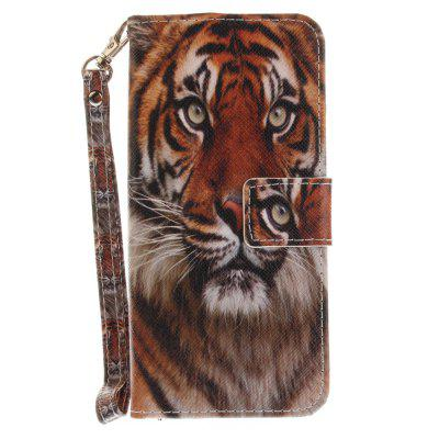 Cover Case for Samsung Galaxy S8 Manchurian Tigers PU+TPU Leather with Stand and Card Slots Magnetic Closure cover case for samsung galaxy s8 young eagles pu tpu leather with stand and card slots magnetic closure