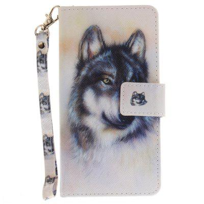 Cover Case for Huawei P9 Lite Wolf PU+TPU Leather with Stand and Card Slots Magnetic Closure mediapad m3 lite 8 0 skin ultra slim cartoon stand pu leather case cover for huawei mediapad m3 lite 8 0 cpn w09 cpn al00 8