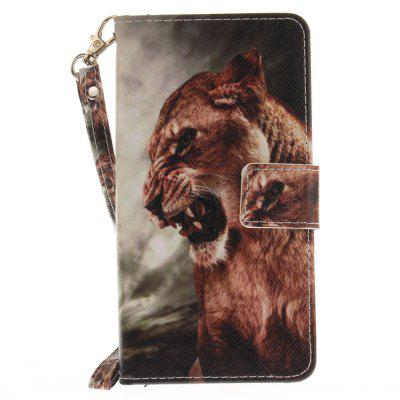 Cover Case for Huawei P9 Lite A Male Lion PU+TPU Leather with Stand and Card Slots Magnetic Closure mediapad m3 lite 8 0 skin ultra slim cartoon stand pu leather case cover for huawei mediapad m3 lite 8 0 cpn w09 cpn al00 8