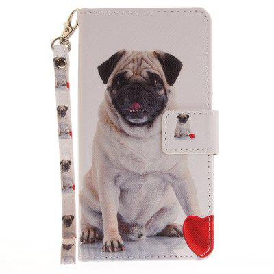 Cover Case for Huawei P9 Lite Pug PU+TPU Leather with Stand and Card Slots Magnetic Closure mediapad m3 lite 8 0 skin ultra slim cartoon stand pu leather case cover for huawei mediapad m3 lite 8 0 cpn w09 cpn al00 8