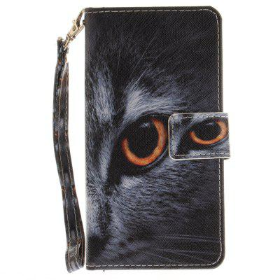 Cover Case for Huawei P9 Lite Half A Face of A Cat PU+TPU Leather with Stand and Card Slots Magnetic ClosureCases &amp; Leather<br>Cover Case for Huawei P9 Lite Half A Face of A Cat PU+TPU Leather with Stand and Card Slots Magnetic Closure<br><br>Compatible Model: Huawei P9 Lite<br>Features: Full Body Cases, Cases with Stand, With Credit Card Holder, With Lanyard, Anti-knock<br>Mainly Compatible with: HUAWEI<br>Material: TPU, PU Leather<br>Package Contents: 1 x Phone Case<br>Package size (L x W x H): 17.00 x 7.00 x 1.00 cm / 6.69 x 2.76 x 0.39 inches<br>Package weight: 0.0600 kg<br>Product Size(L x W x H): 16.00 x 6.00 x 1.00 cm / 6.3 x 2.36 x 0.39 inches<br>Product weight: 0.0540 kg<br>Style: Animal, Pattern