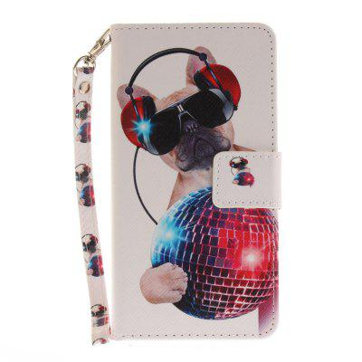 Cover Case for Huawei honor 8 Fashion Dog PU+TPU Leather with Stand and Card Slots Magnetic Closure сотовый телефон huawei honor 8 pro black