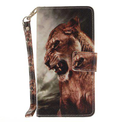 Cover Case for Huawei Honor 8 A Male Lion PU+TPU Leather with Stand and Card Slots Magnetic Closure сотовый телефон huawei honor 8 pro black