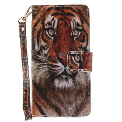 Cover Case for Huawei Honor 8 Manchurian Tiger PU+TPU Leather with Stand and Card Slots Magnetic Closure сотовый телефон huawei honor 8 pro black